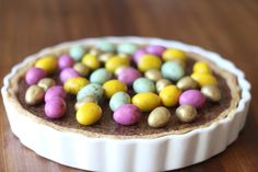 Milk Chocolate Unashamed Easter Tart.
