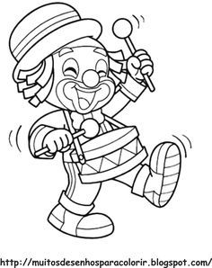 Adult Coloring Book Pages, Christmas Coloring Pages, Colouring Pages, Coloring Pages For Kids, Coloring Sheets, Coloring Books, Clown Crafts, Clown Party, Texture Painting On Canvas