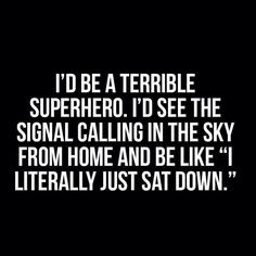 Right?! #iaintyourbatman