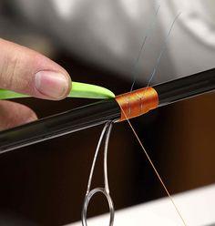 Rodcraft Metallic Braid Diamond Wrap for Fishing Rod