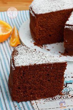 Chocolate Orange Cake, no eggs, no milk Sweet Recipes, Cake Recipes, Dessert Recipes, Vegan Cake, Vegan Desserts, Tortillas Veganas, Cake Chocolat, Torte Cake, Sweet Cakes