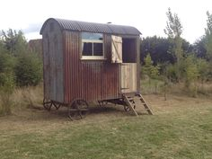 Another Fourpenny workshop shepherds hut restoration in a secret location in Hampshire !