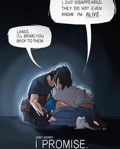 I promise. Keith and Lance, brothers.