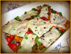 SPLENDID LOW-CARBING BY JENNIFER ELOFF: SWISS MUSHROOM PEPPER BAKE