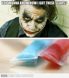 Wanna know how I got these scars...