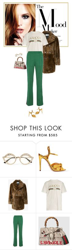 """""""The Mood Maker"""" by mariots22 ❤ liked on Polyvore featuring Gucci and Yves Saint Laurent"""