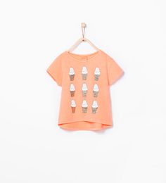 Ice-cream print T-shirt