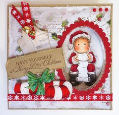 Jane's Lovely Cards: Magnolia Down Under Challenges DT - Christmas