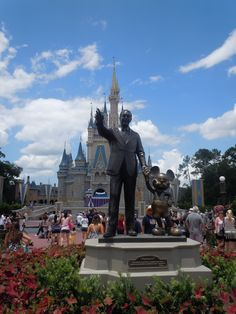 Disney world! We are taking the girls there on our 10th wedding anniversary for a big family vacation.