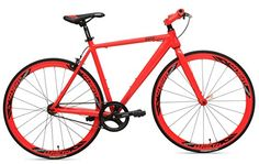 RapidCycle Evolve Fixed Gear Bike – Aluminum Flat bar (700CC, 53CM Frame, Red Color) http://coolbike.us/product/rapidcycle-evolve-fixed-gear-bike-aluminum-flat-bar-700cc-53cm-frame-red-color/