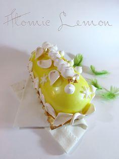 Bûche atomic lemon