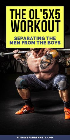 The standard is an effective and simple plan to gain strength and get ripped. It's one of the more famous strength building program online. Gym Workouts For Men, Workout Plan For Men, Workout Routine For Men, Workout Routines For Beginners, Weight Training Workouts, Gym Workout Tips, Easy Workouts, Men Exercise, Workout Men