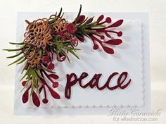 Craft-a-Board Peace, Pine and Pinecones by Kittie Caracciolo - the CLASSroom