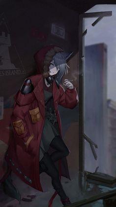 Anime Neko, Manga Anime, Anime Wolf Girl, Anime Art Girl, Fille Anime Cool, Character Art, Character Design, Project Red, Anime Guys