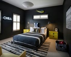 Bedroom Designs For Guys The $100 Chalkboard & Graffiti Guestgame Room Makeover  Game