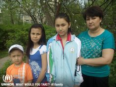 Zhanna and her family fled Uzbekistan in 2008 as a result of large-scale flooding. The most important things they brought with them to Russia were traditional Uzbek beads and the national sports uniform from Uzbekistan, which her daughter, Mubina is wearing. UNHCR/S.Tikhomirov - Visit 1family: http://www.unhcr.org/1family