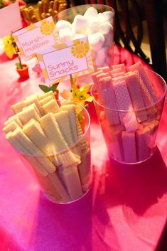 You are my sunshine birthday party snacks!  See more party planning ideas at CatchMyParty.com!: