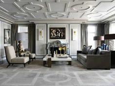 J L Denoit Interior Design _ Living room Decor ideas