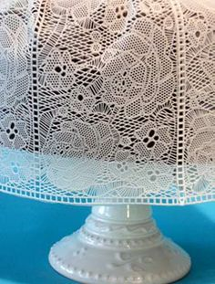 This Is The Pattern Of The Edible Lace That Will Be On My