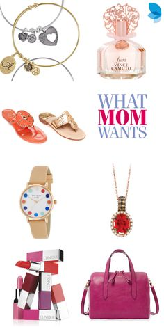 Show Mom how special she is this Mother's Day with the perfect gift from her wish list. From Jack Rogers summer sandals to a colorful Kate Spade watch, Belk has it all.