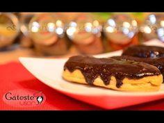 Eclere cu crema de vanilie si glazura de ciocolata | GatesteUsor.ro