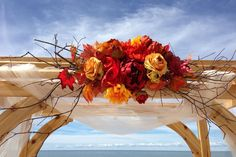 Fall beach wedding on pinterest