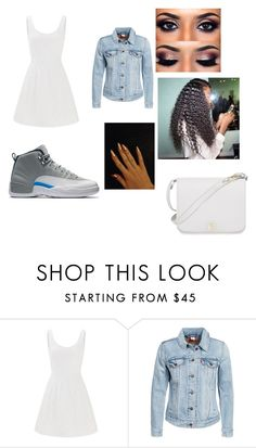 """""""Untitled #898"""" by minutemaid-1 ❤ liked on Polyvore featuring Lilly Pulitzer, Levi's and Furla"""