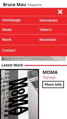Final Homepage Mobile --> menu
