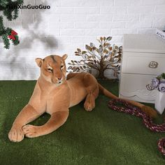 You can visit the image link more details. (This is an affiliate link and I receive a commission for the sales) Lion Toys, Pet Toys, Giant Stuffed Animals, Dinosaur Stuffed Animal, Female Lion, Cute Plush, Pouch, Pusheen, Caricature
