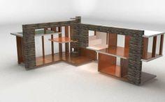 Modern Dollhouse by Brinca Dada