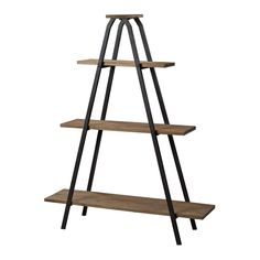 Buy the Sterling Industries Restoration Black / Natural Wood Direct. Shop for the Sterling Industries Restoration Black / Natural Wood Height Wooden A-Line Shelf and save. Wood And Metal Shelves, Metal Shelving, Shelving Units, Shelving Ideas, Contemporary Bookcase, Etagere Bookcase, Rustic Industrial, Rustic Barn, Rustic Chic