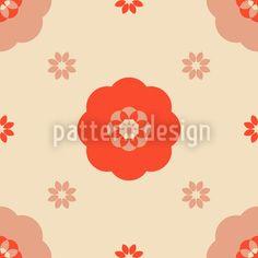 Carmen Flowers by Sarah  Daub available for download on patterndesigns.com Vector Pattern, Pattern Design, Patterns, Illustration, Artwork, Flowers, Inspiration, Home Decor, Block Prints