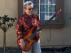 CAROL KAYE IS THE GREATEST BASS PLAYER YOU PROBABLY NEVER HEARD OF She was there in the golden days of rock . She was there backing up the likes of Joe Cocker, Ritchie Valens, Sam Cooke, The Righteous Brothers, The Monkees — you name it.  Although most people don't know who she is, Kaye's bass riffs have seared musical moments into billions of memories.  http://www.laweekly.com/music/carol-kaye-is-the-greatest-bass-player-you-probably-never-heard-of-5499694