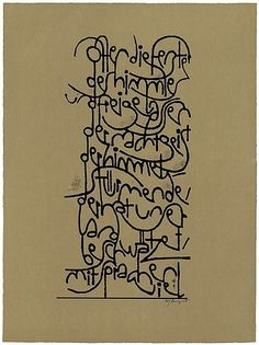 Berliner Sammlung Kalligraphie: Hans-Joachim Burgert