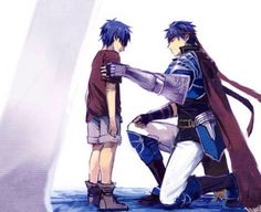 Ike looking at the past so cute