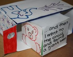 Make a Dr. Seuss Story Box! Love this reading activity for Third Graders.