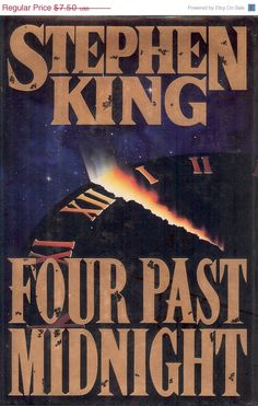 "Vintage Collectibles Stephen King's ""Four Past Midnight"" book, 761 pages of suspense, horror, and mystery. Stephen King and his wife, the novelist Tabitha King, live in Bangor, Maine. His first novel, ""Carrie,"" was published in 1974, and the 1980s saw him become America's bestselling writer of fictions. He's glad to be held over into the new decade, and century by NookCove on Etsy, $6.00"