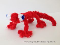 pipe cleaner gecco lizard