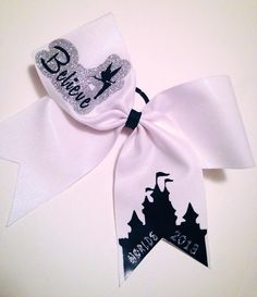 Believe Cheer Bow on Etsy, $18.00