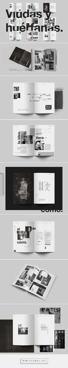 Viudas y huérfanas editorial. on Behance... - a grouped images picture - Pin Them All