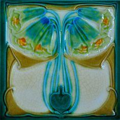 Marsden c1905 – RS0755* - Art Nouveau Tiles
