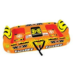 WOW World of Watersports Faceoff 4 Person Ski Tube - 15-1050
