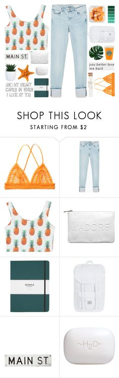 """✧shoutout✧"" by beauty-from-ashes ❤ liked on Polyvore featuring Monki, Zara, Miss Selfridge, Shinola, Herschel Supply Co., FOSSIL and H2O+"