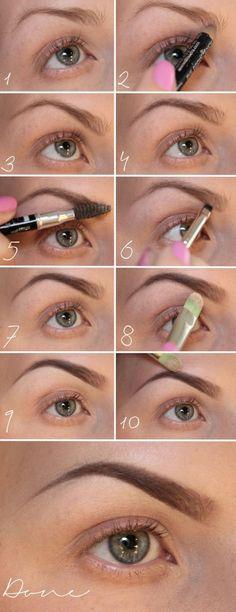 DIY Perfect Eyebrow Tutorial