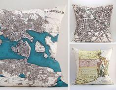 Saltlabs, maps, vintage