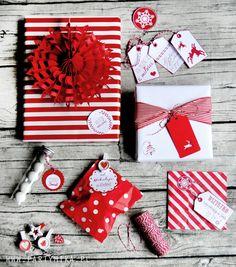 Pomysł na pakowanie prezentów świątecznych - partymika Gift Wrapping, Christmas, Gifts, Gift Wrapping Paper, Xmas, Presents, Wrapping Gifts, Navidad, Noel