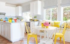 Nerdy Nummies star Rosanna Pansino called on designer Christiane Lemieux to overhaul her entire kitchen, creating an oasis where treats like Super Mario Bob-omb truffles and Captain America ice cream sandwiches don't have to compete for attention with their surroundings.   - HouseBeautiful.com