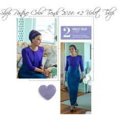 """Shop Pantone Color Trends 2014: #2 Violet Tulip"" by trendfudge on Polyvore"