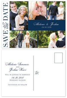 newlywed collage 4x5 wedding announcement cards if i were to get