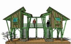 Bamboo Structure Design